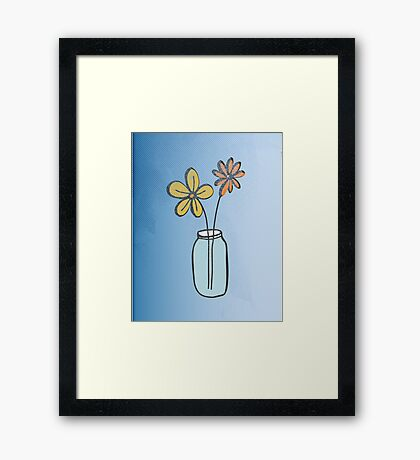 Feel Good Framed Print