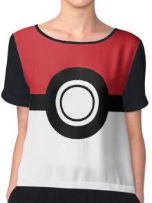 Pokemon - Poke Ball Chiffon Top