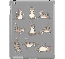 Funny Yoga Cat Potition Basic Poses T-Shirt iPad Case/Skin