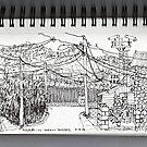 Nogales AZ- U.S.-Mexican border by James Lewis Hamilton