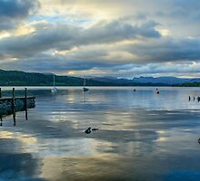 Evening at Lake Windermere by Nick Jenkins