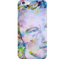 ANDRE GIDE - watercolor portrait.1 iPhone Case/Skin