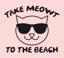 Take Meowt To The Beach Kids Clothes