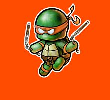 """TMNT -""""Mikey"""" POOTERBELLY - DIE CUT Unisex T-Shirt"""