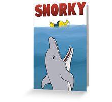 Snorky (Jaws) Greeting Card