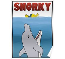 Snorky (Jaws) Poster