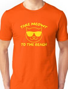 Take Meowt To The Beach Unisex T-Shirt