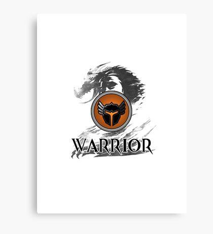 Warrior - Guild Wars 2 Canvas Print