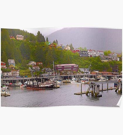 Ketchikan Township, Alaska, 2012. Poster