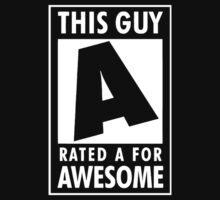 This guy is rated A for awesome by datthomas
