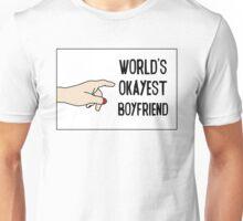 Cool Funny Gift Design For Best Okeyest Boyfriends Unisex T-Shirt