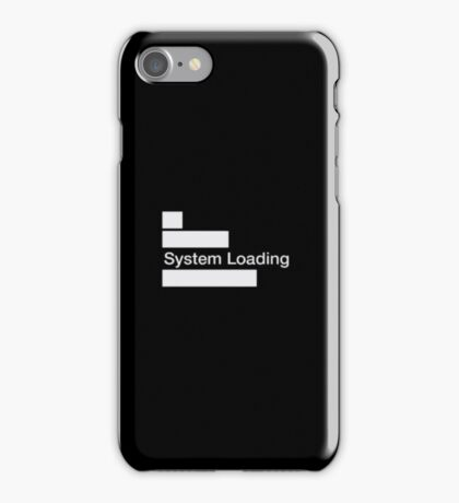 Watch Dogs System Loading Kernel IT Symbol iPhone Case/Skin