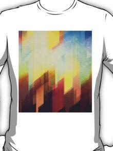 Minimalist Colorful Urban design T-Shirt