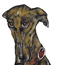 GREYHOUND g915 by Hares & Critters