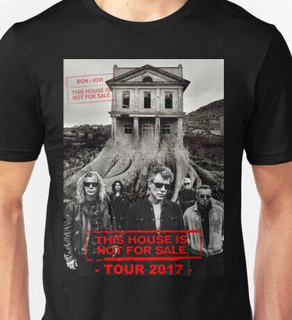 ttoy05 Bon Jovi This House Is Not For Sale Tour 2016 Unisex T-Shirt