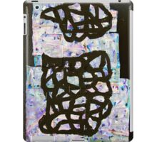 vessel with lid collage iPad Case/Skin