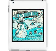 LESS THAN JAKE TOURS 4 iPad Case/Skin