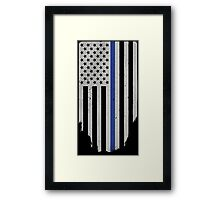 Honor And Respect [Military Tactical Flag] Framed Print