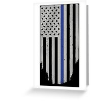 Honor And Respect [Military Tactical Flag] Greeting Card