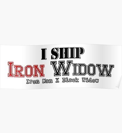 I Ship Iron Widow Poster