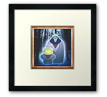 The Jedi Ending to Armello Framed Print