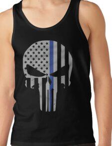 Military Skull [Tactical Flag] Tank Top