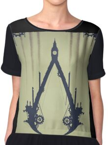 assassin creed syndycate Chiffon Top