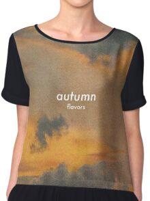 Autumn Vibes Chiffon Top