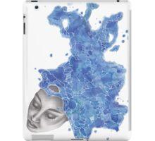 Strange Lady - Blue iPad Case/Skin