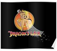 Dragons Lair - Dirk & Daphne Poster