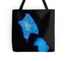 Lord Howe Island bathymetry Tote Bag