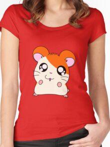 hamtaro Women's Fitted Scoop T-Shirt