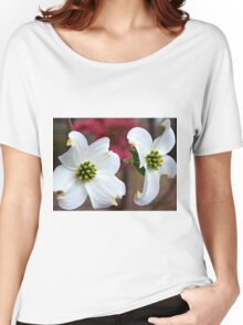 The Symbolic Dogwood Tree Women's Relaxed Fit T-Shirt