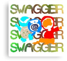 Swagger Team Canvas Print
