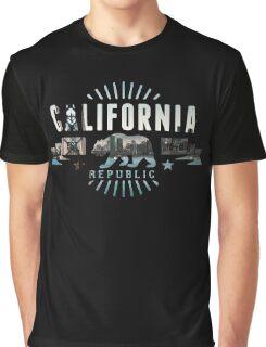 California Skyline 2  Graphic T-Shirt