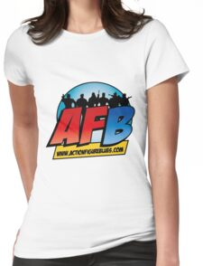 AFB Logo Womens Fitted T-Shirt