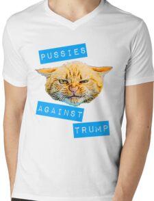 Pussies Against Trump 2.0 Mens V-Neck T-Shirt