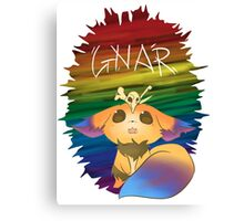 Gnar - League of Legends Canvas Print