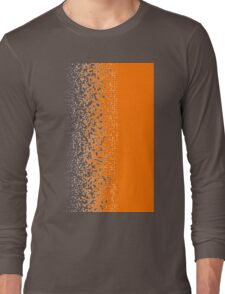 Shredded ORANGE Long Sleeve T-Shirt
