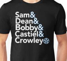 Supernatural Helvetica Unisex T-Shirt