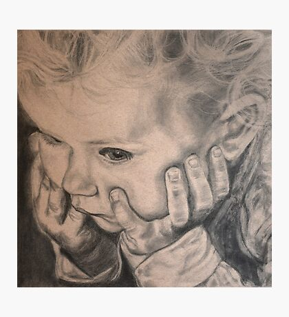 The Little Thinker  Photographic Print