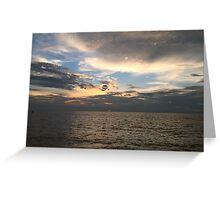 Sunset at Marissa Beach Greeting Card
