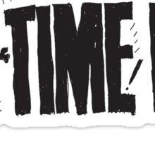 all time low skull logo Sticker
