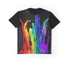 SPLASHING PAINT Graphic T-Shirt