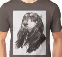 Saluki Portrait Unisex T-Shirt