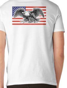 USA, Flag, War Eagle, America, American Mens V-Neck T-Shirt