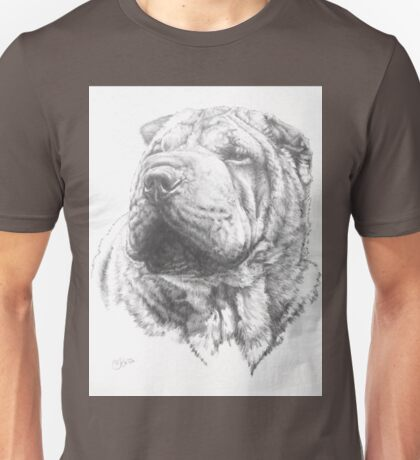 Chinese Shar Pei Unisex T-Shirt