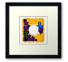 Are you envious because I am generous? Framed Print