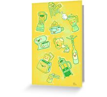Very Dirty Kitchen Tools Greeting Card