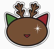 Meow reindeer One Piece - Short Sleeve